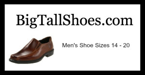 big and tall shoes size 15